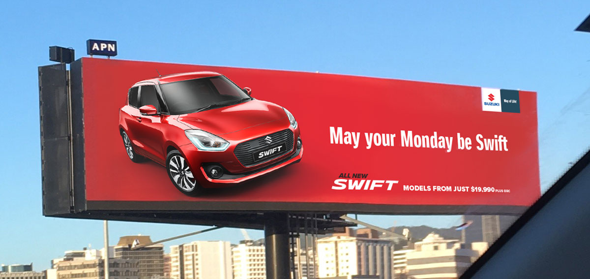 Swift Billboard Monay