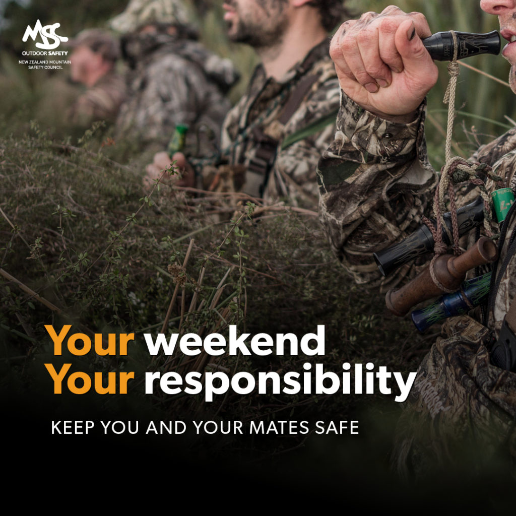Your weekend Your responsibility social ad